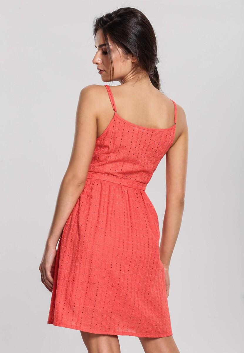 Koralowa Sukienka Macchiato