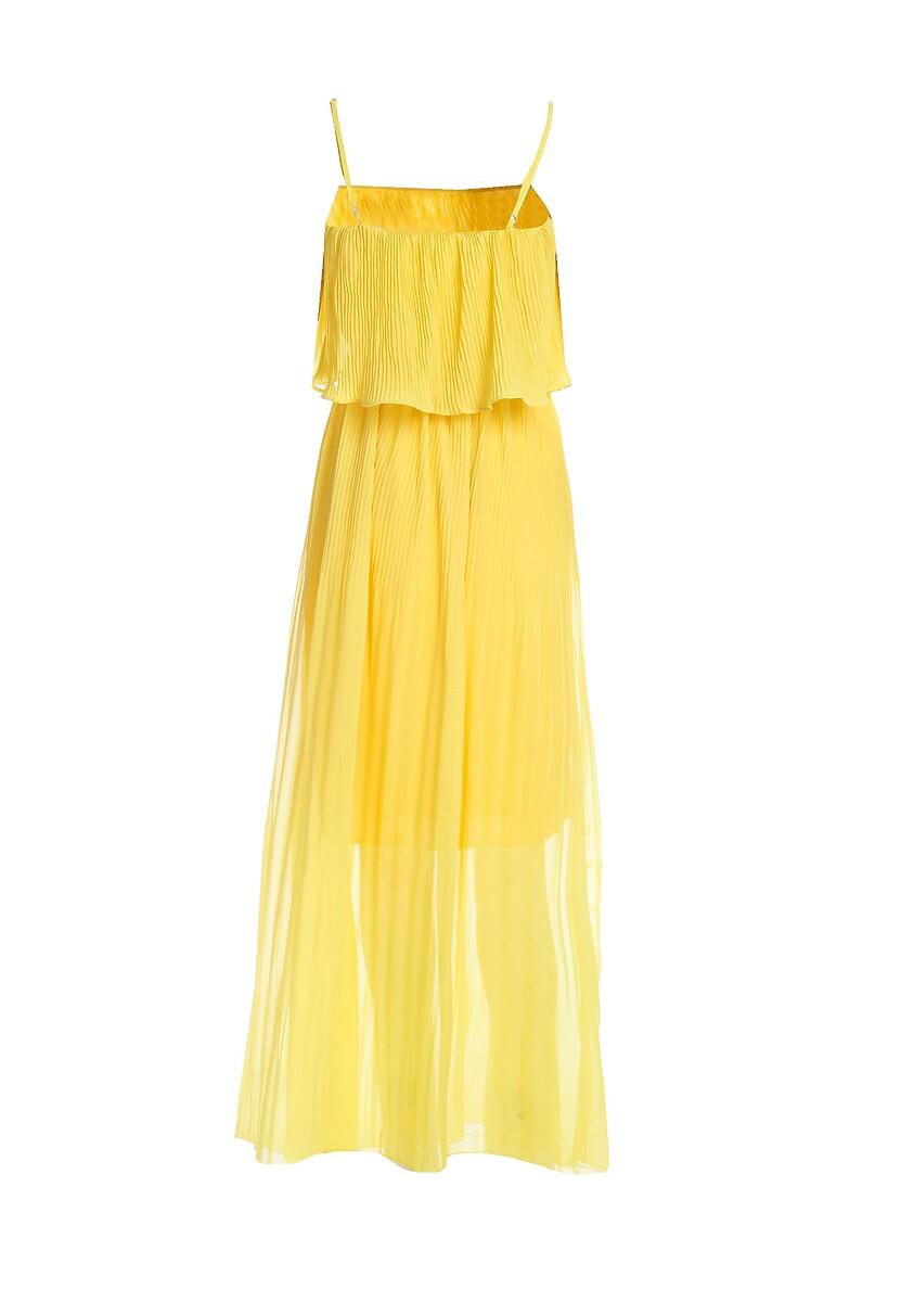 Żółta Sukienka Baulk