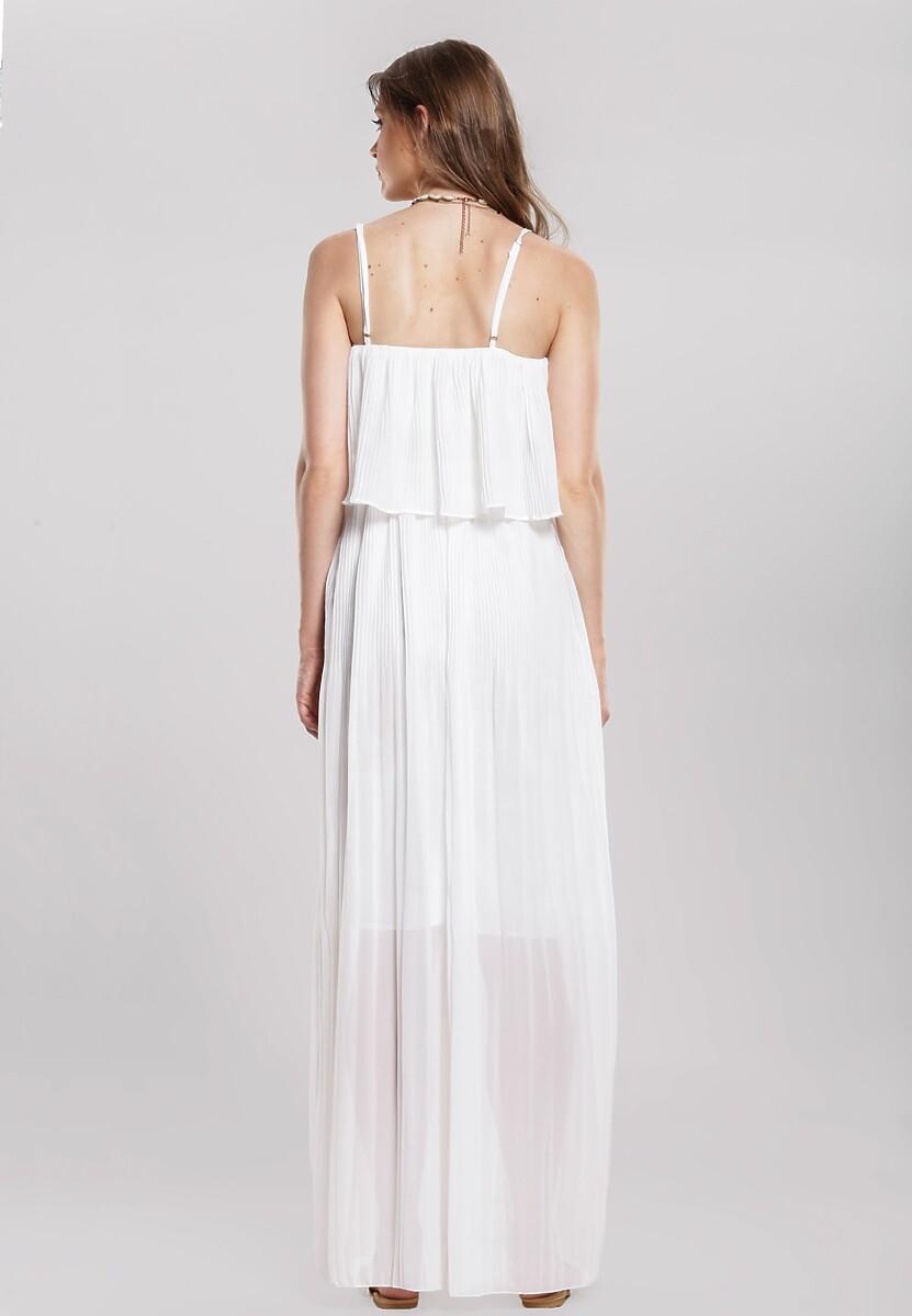 Biała Sukienka Baulk