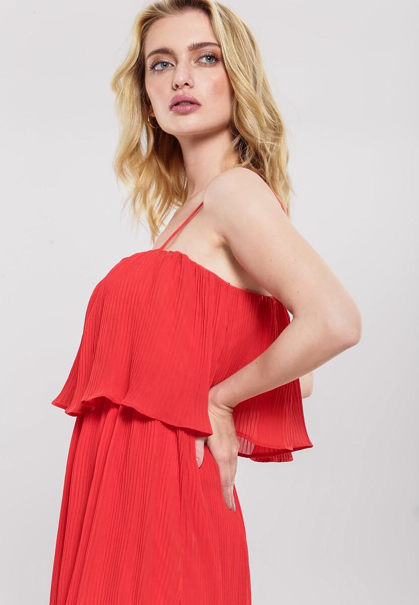 Czerwona Sukienka Baulk