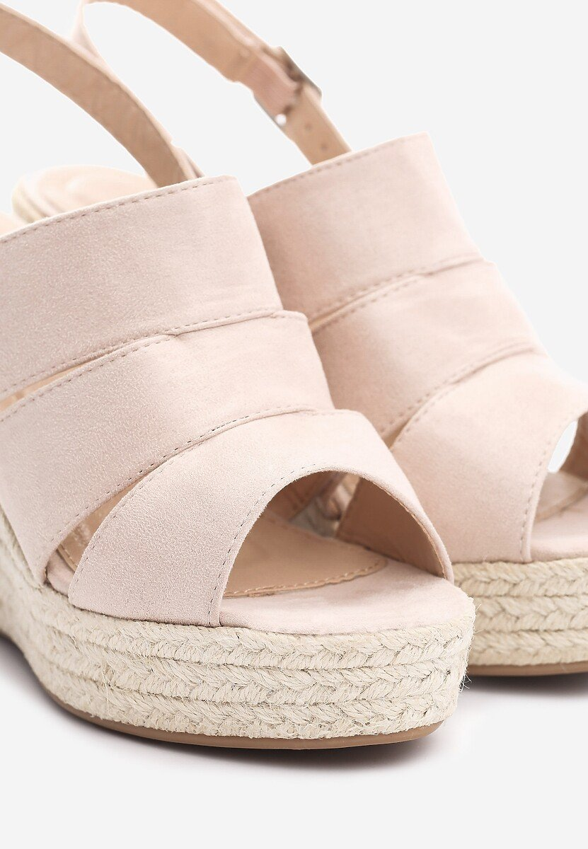Beżowe Sandały Stir Up