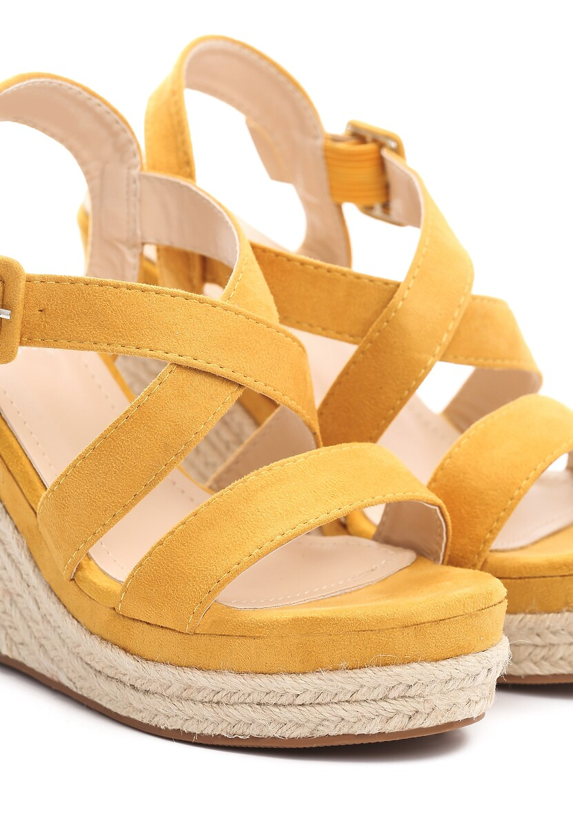 Żółte Sandały Toss