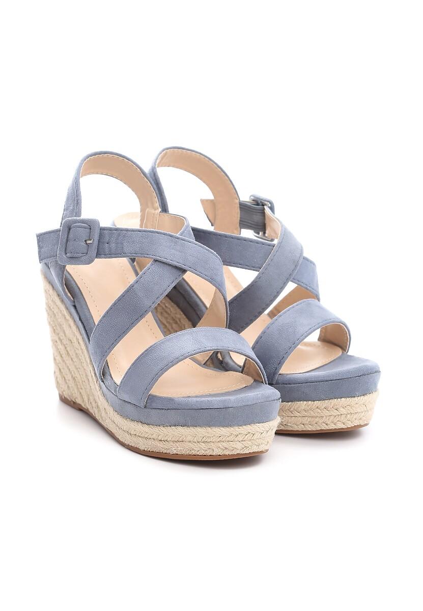 Niebieskie Sandały Toss