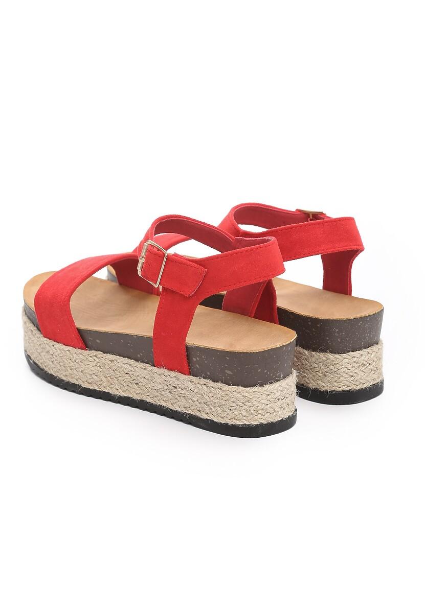 Czerwone Sandały Friday