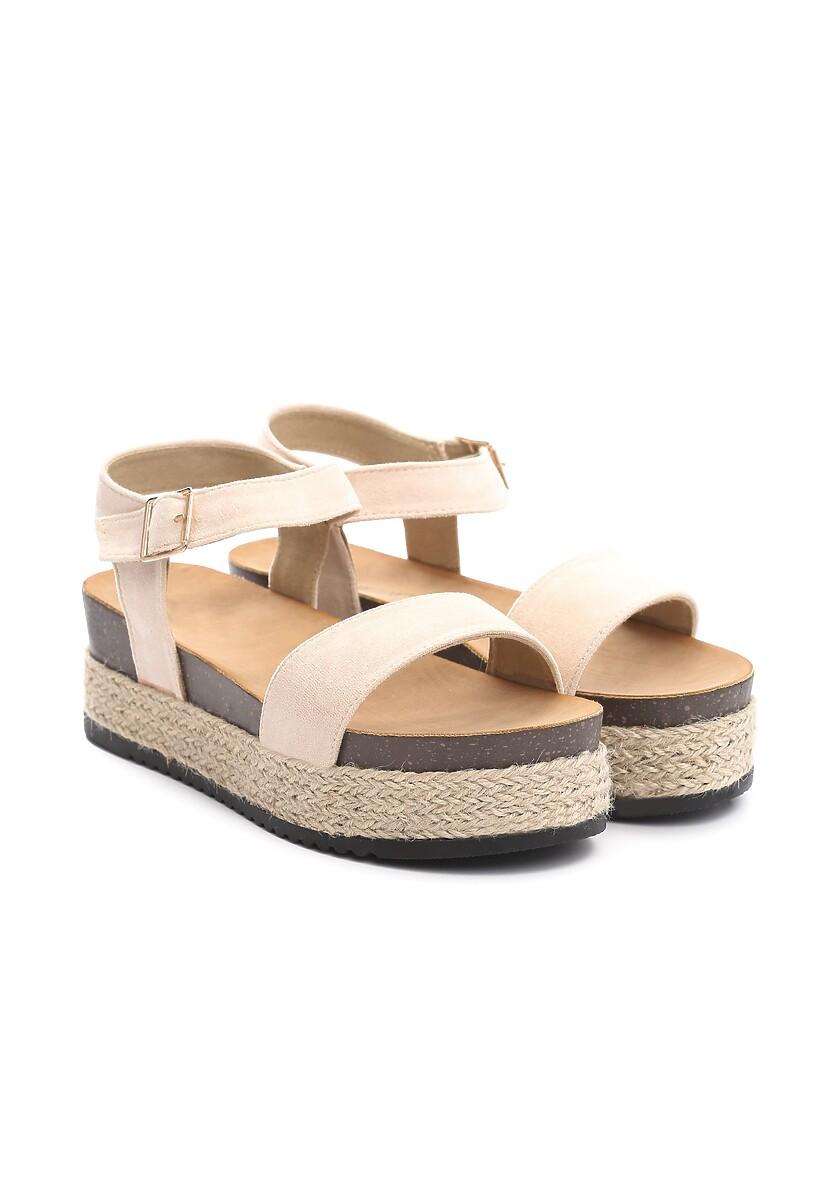 Beżowe Sandały Friday