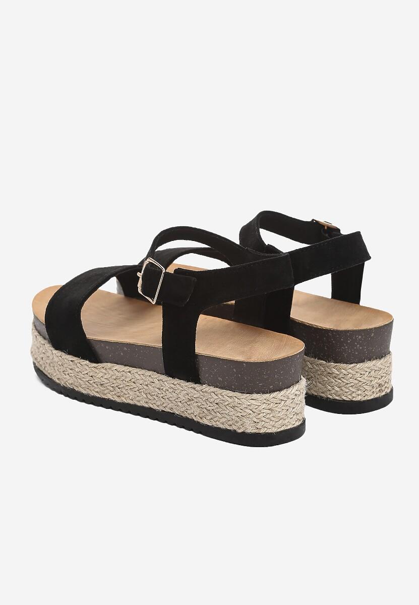 Czarne Sandały Friday