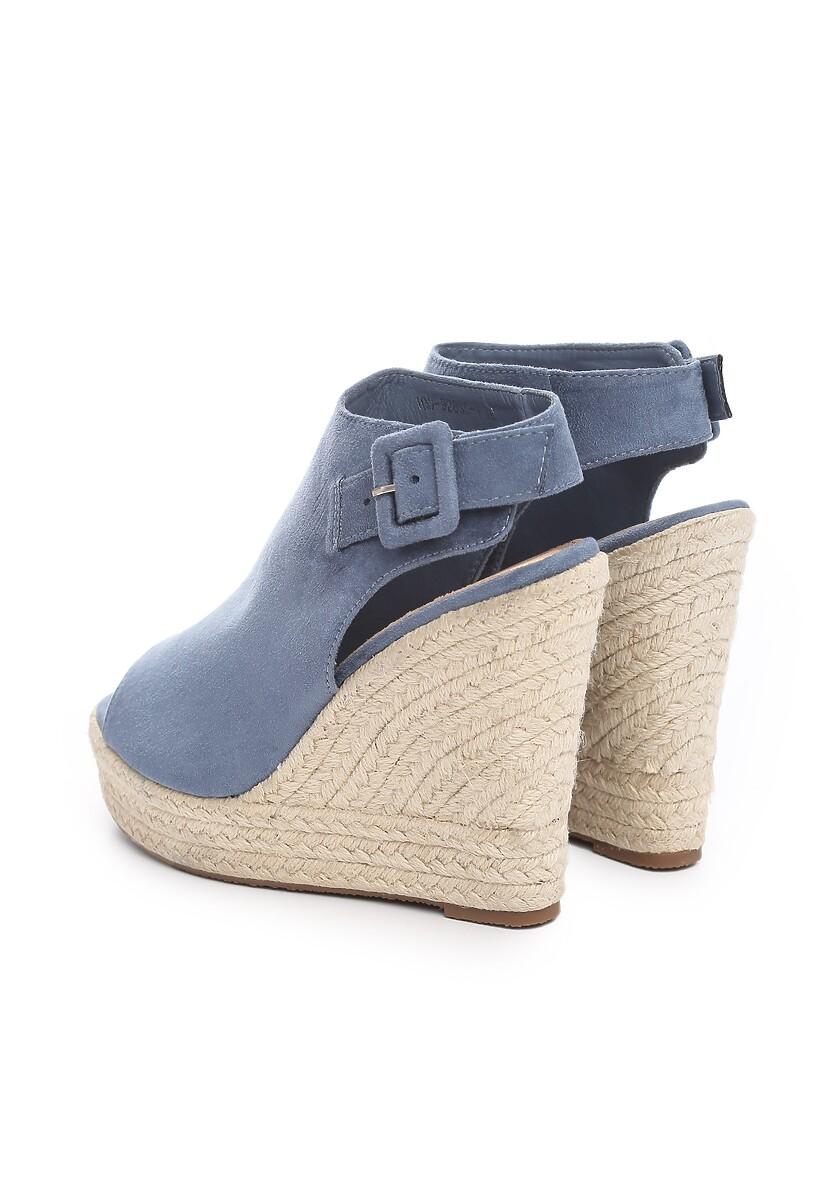 Niebieskie Sandały Campaign