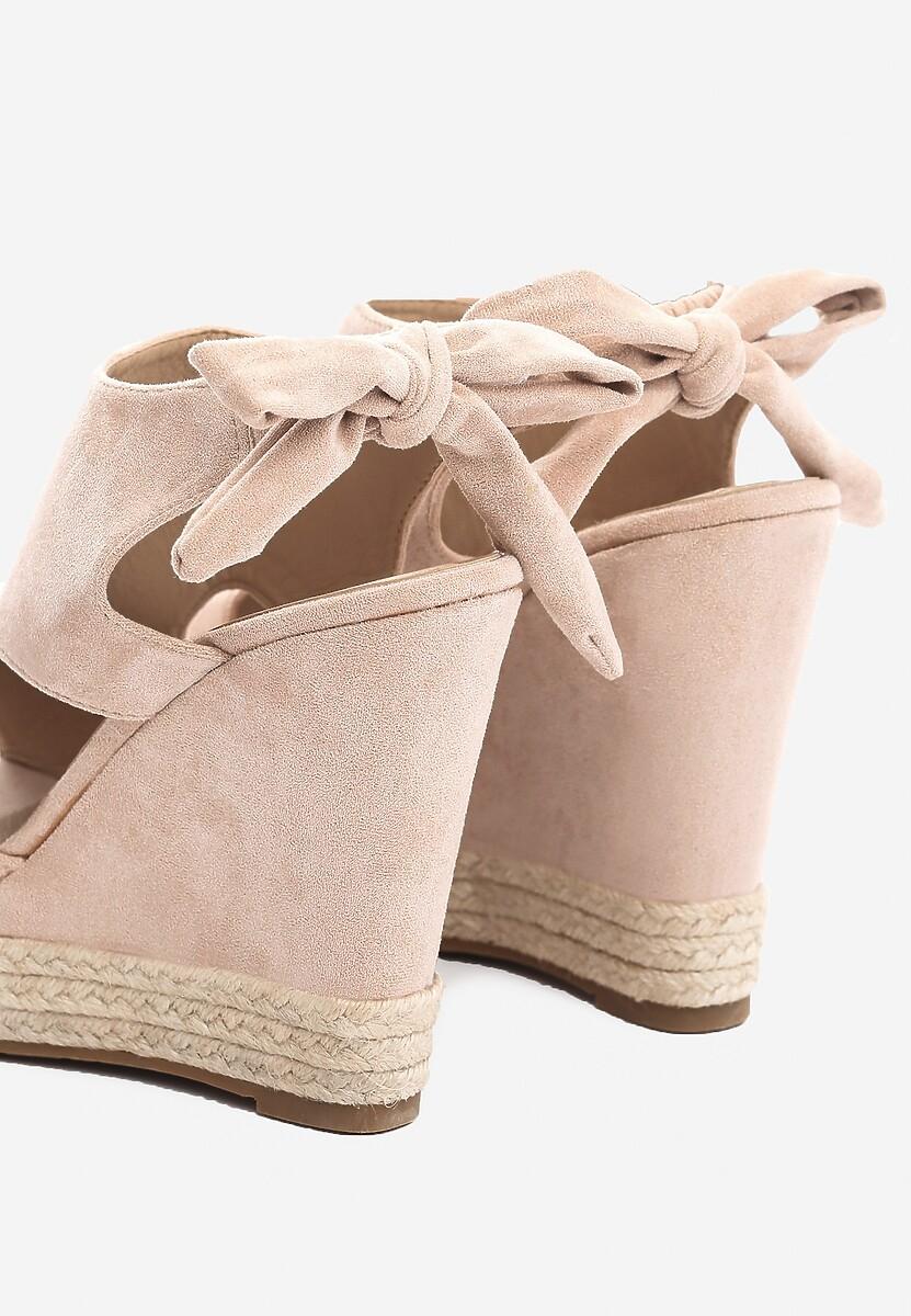 Różowe Sandały Succuss