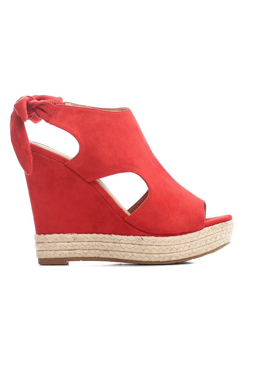 Czerwone Sandały Succuss
