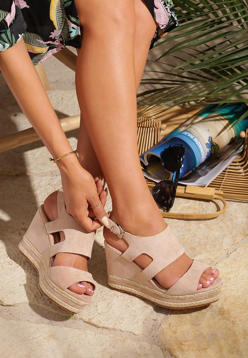 Różowe Sandały Charge Up
