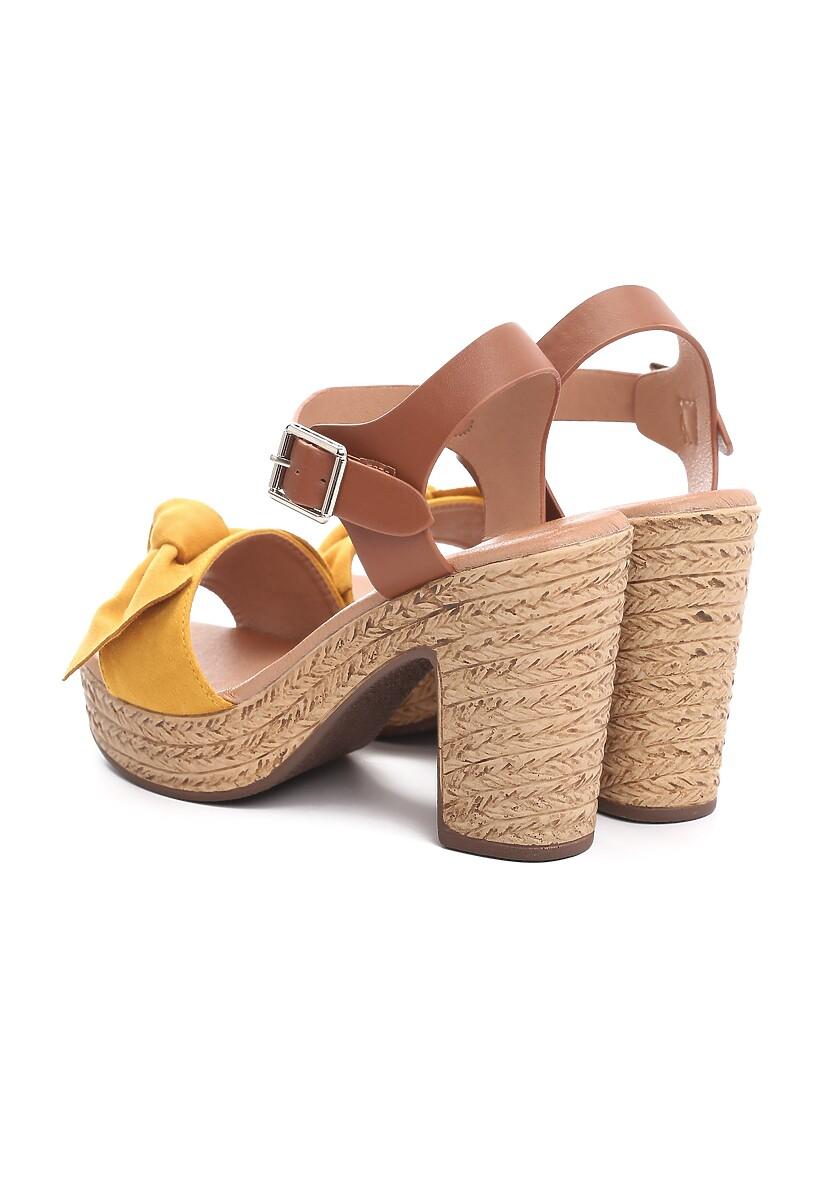 Żółte Sandały Igneous