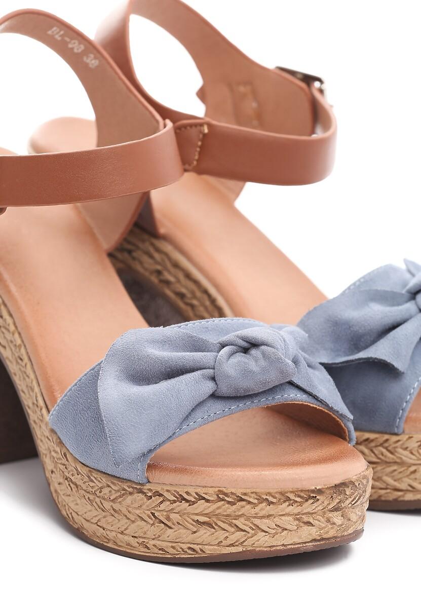 Niebieskie Sandały Igneous
