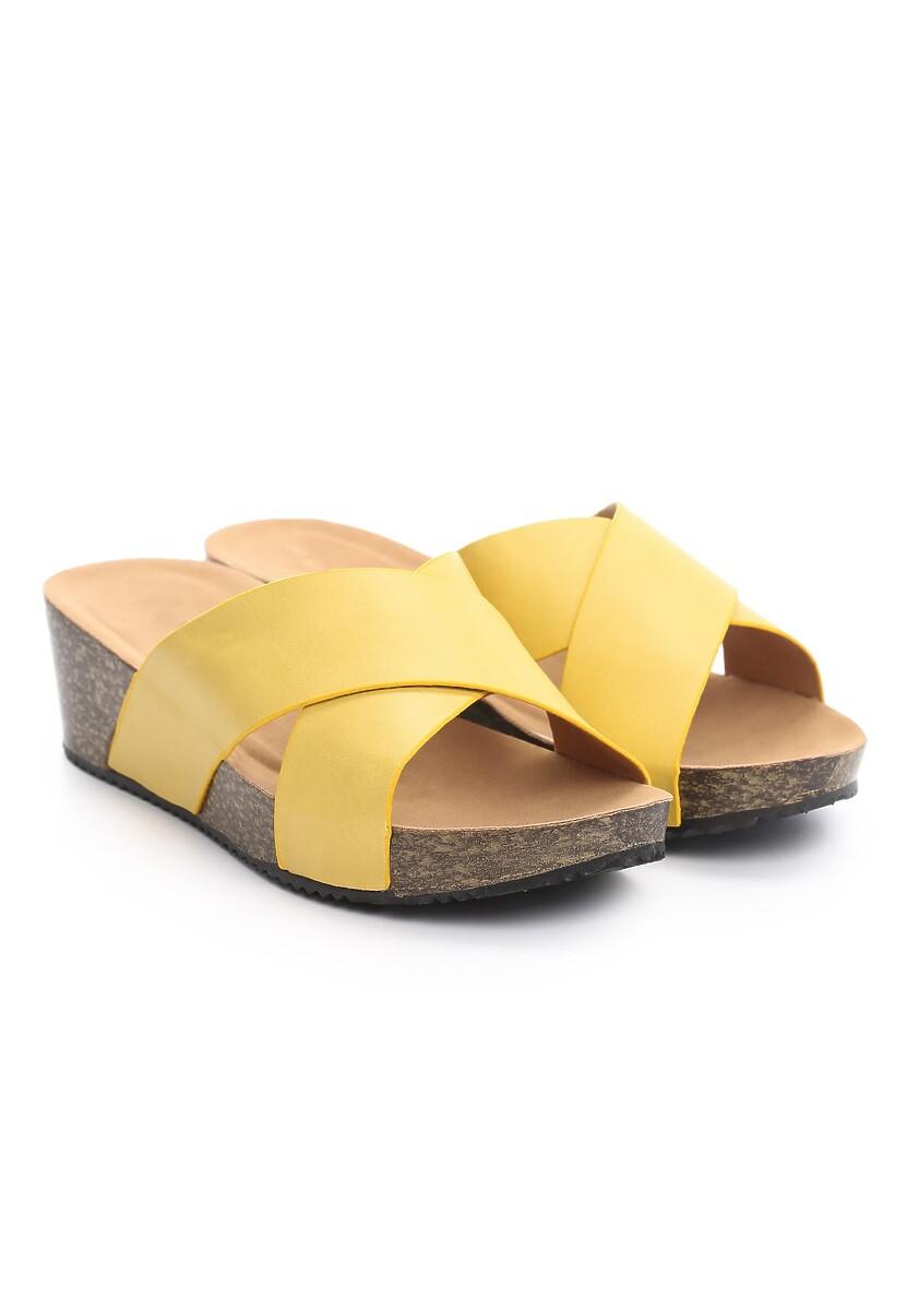 Żółte Klapki Abounding