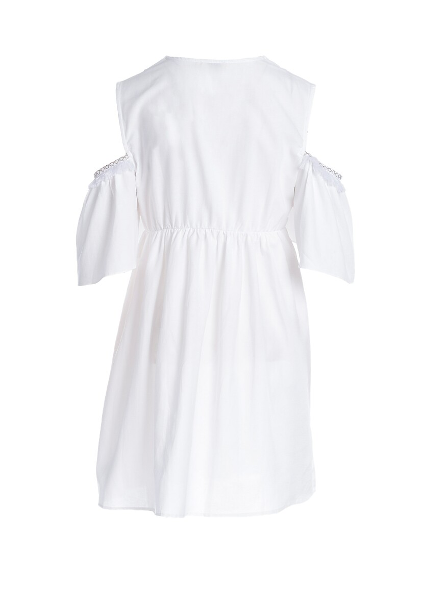 Biała Sukienka Supportable