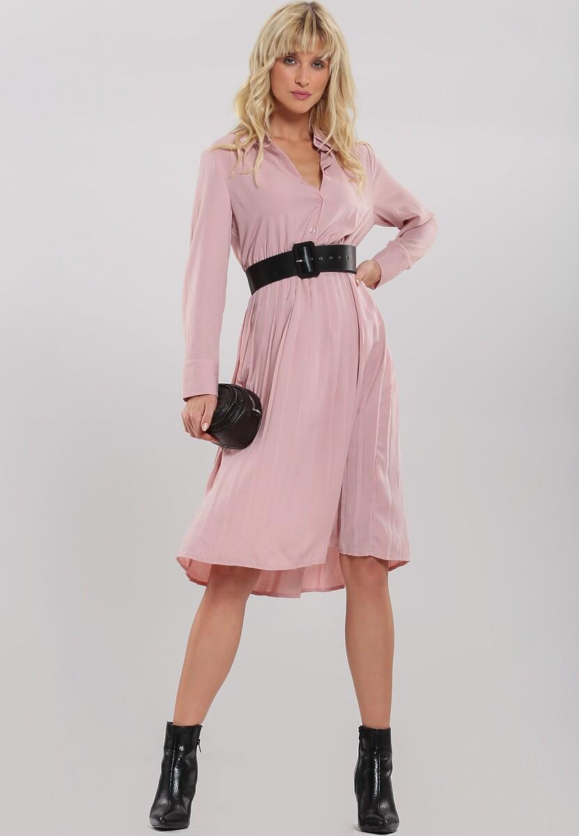 Różowa Sukienka Inadequate