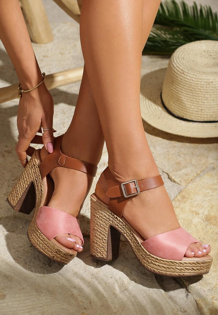 Różowe Sandały Think About