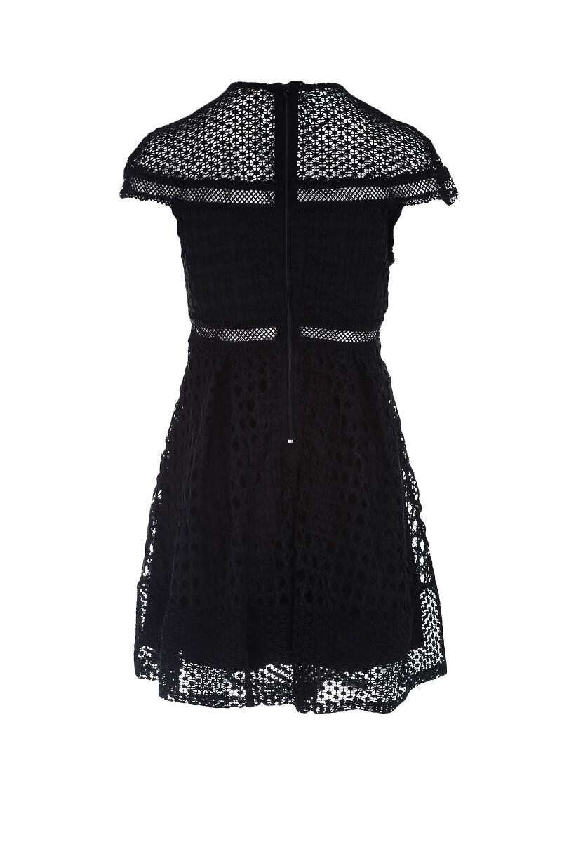 Czarna Sukienka Debonaire