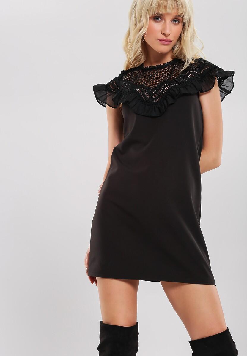 Czarna Sukienka Swarming