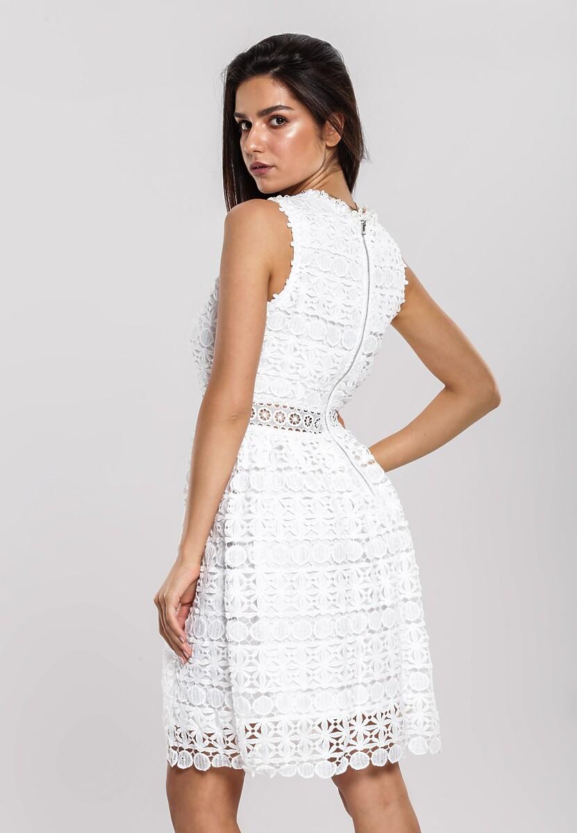 Biała Sukienka Spry