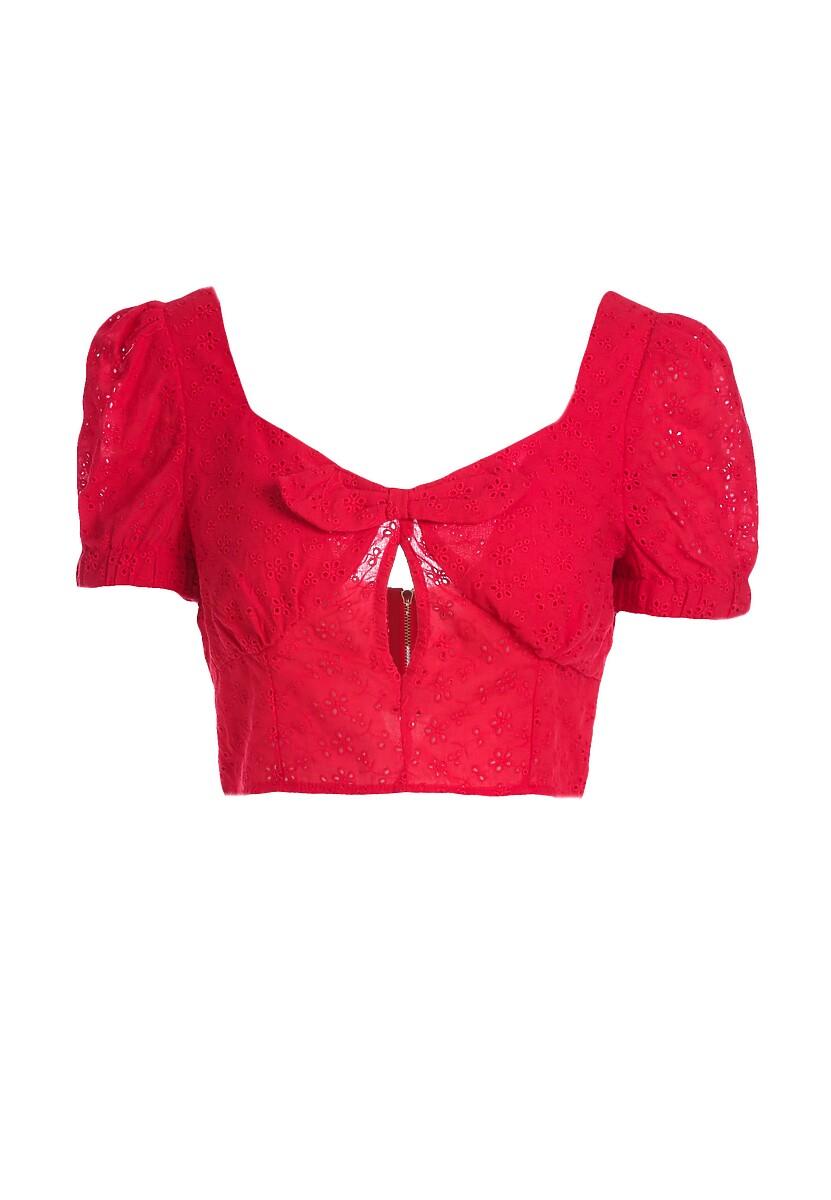 Czerwony Top Thwart