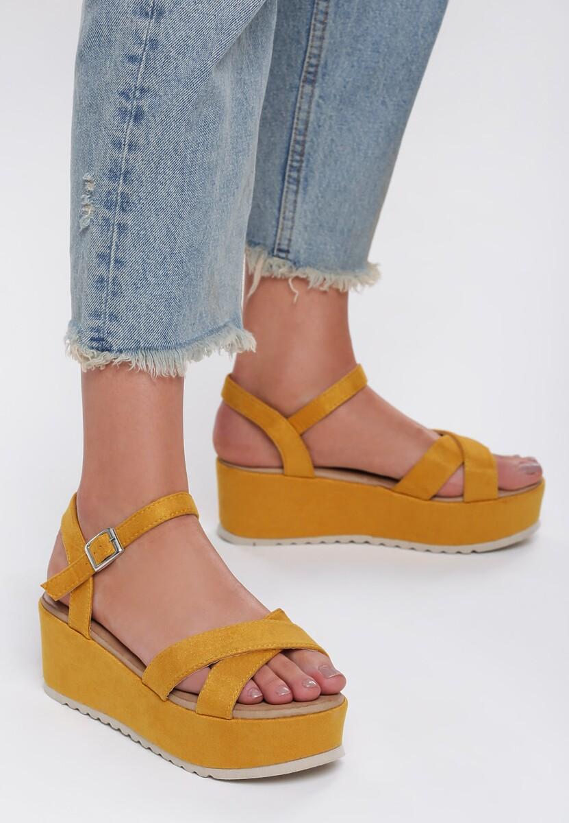 Żółte Sandały Turmoil