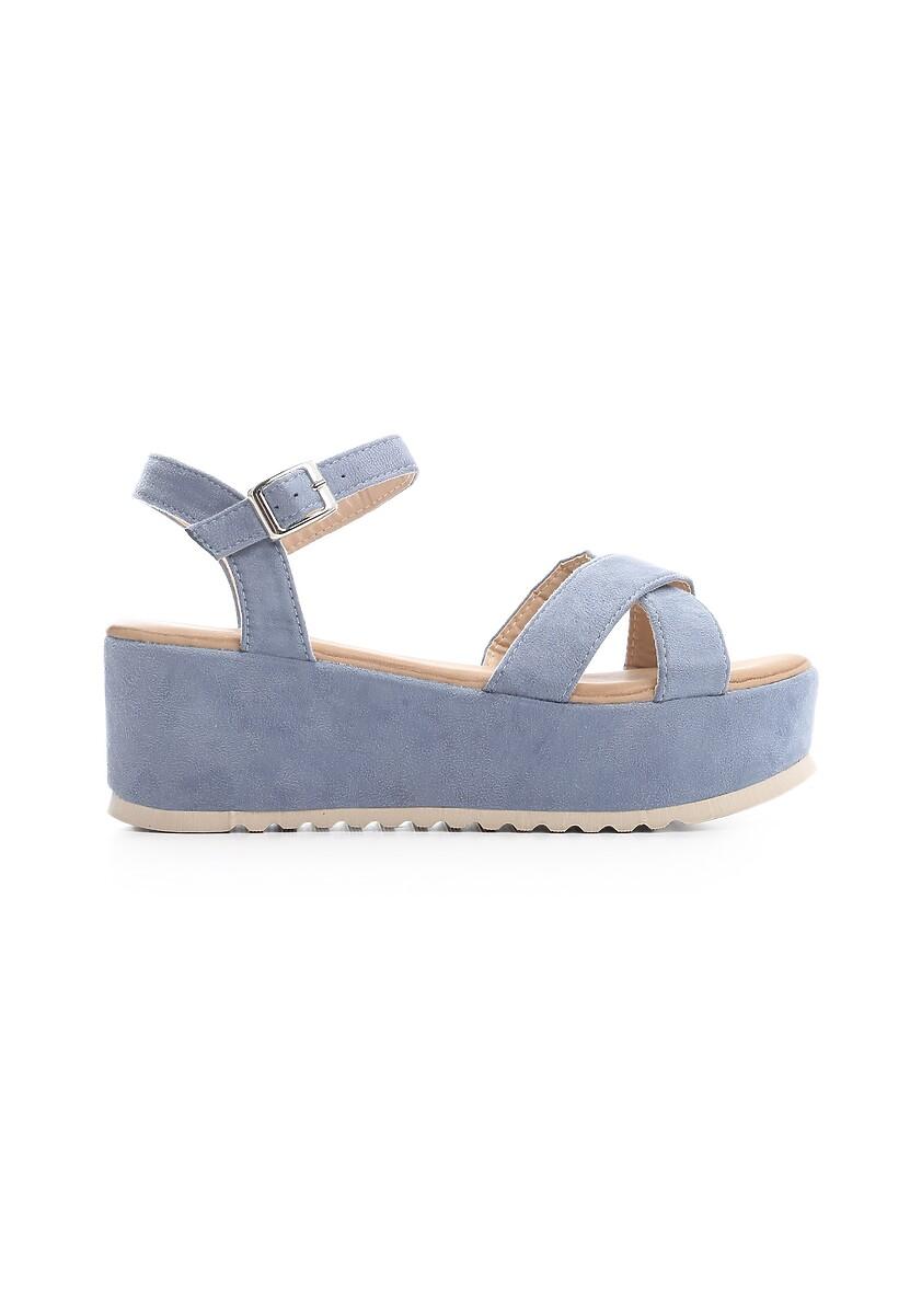 Niebieskie Sandały Turmoil