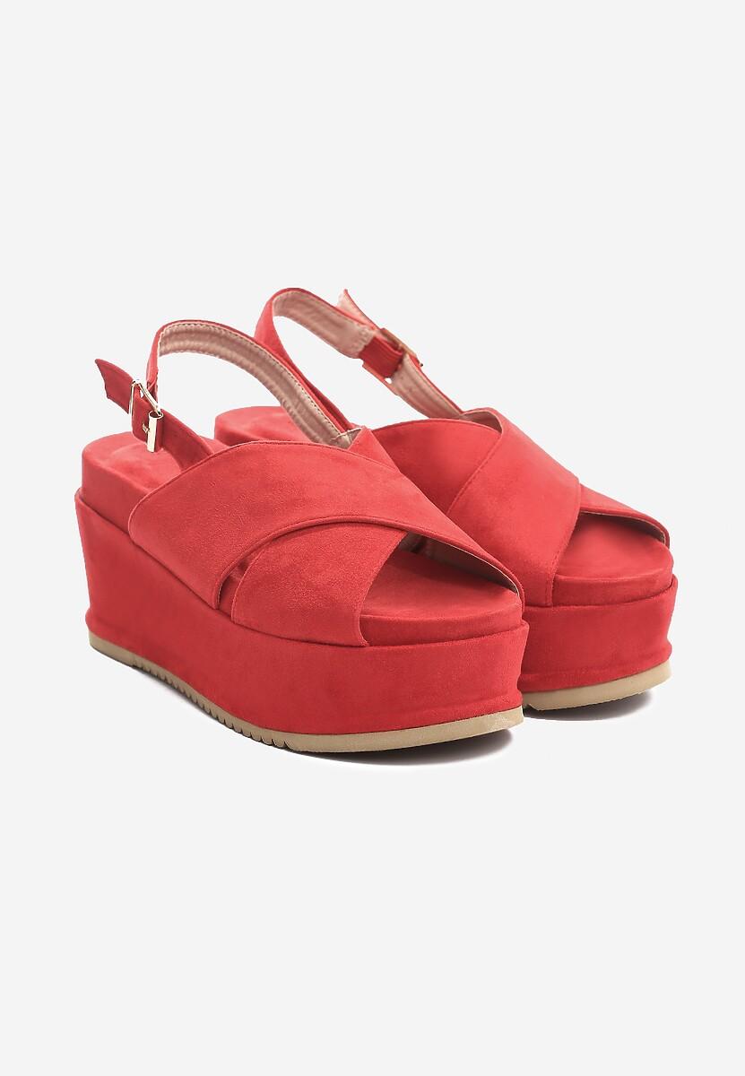 Czerwone Sandały Thermogenic