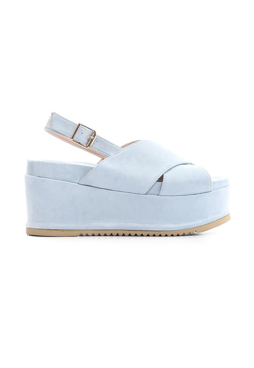 Niebieskie Sandały Thermogenic