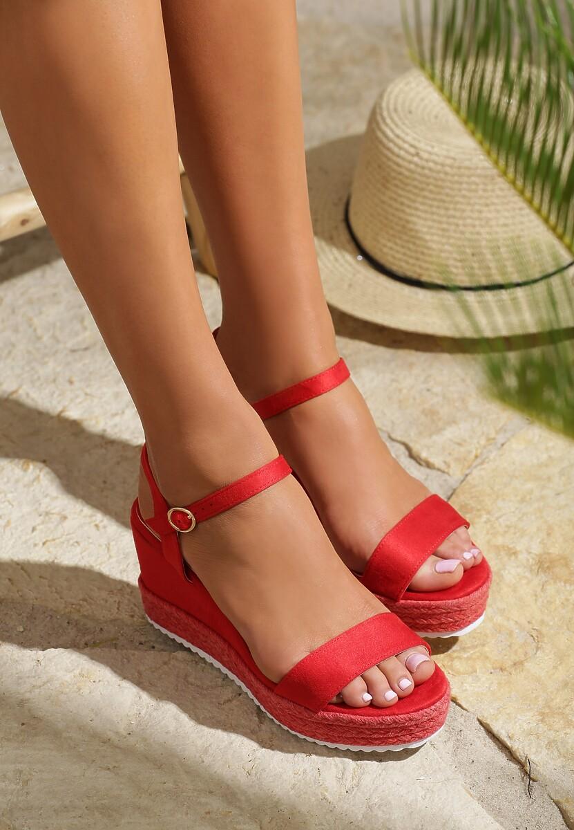 Czerwone Sandały Take One'S Time