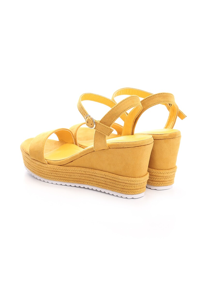 Żółte Sandały Take One'S Time