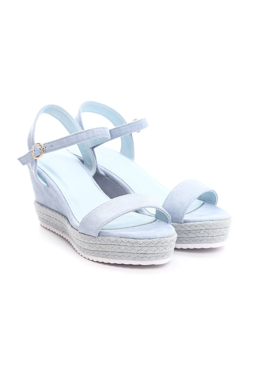Niebieskie Sandały Take One'S Time