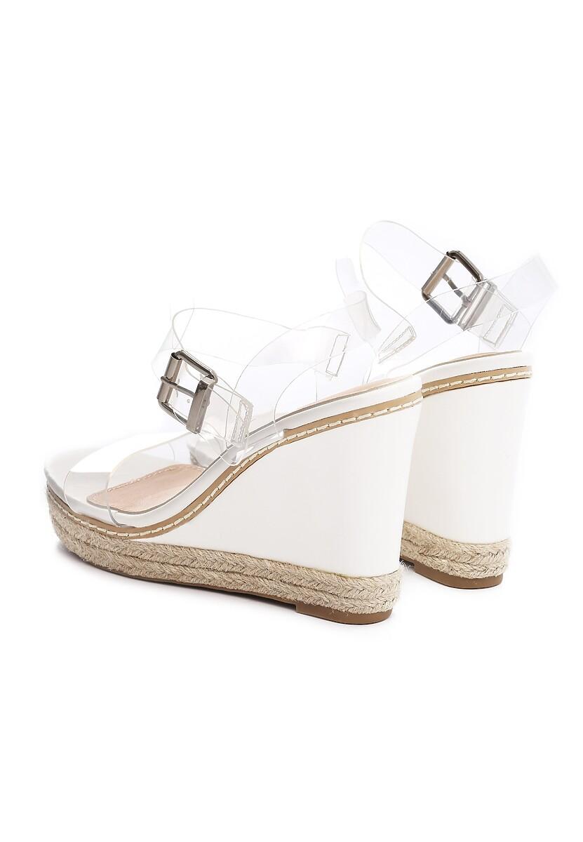 Białe Sandały Clog