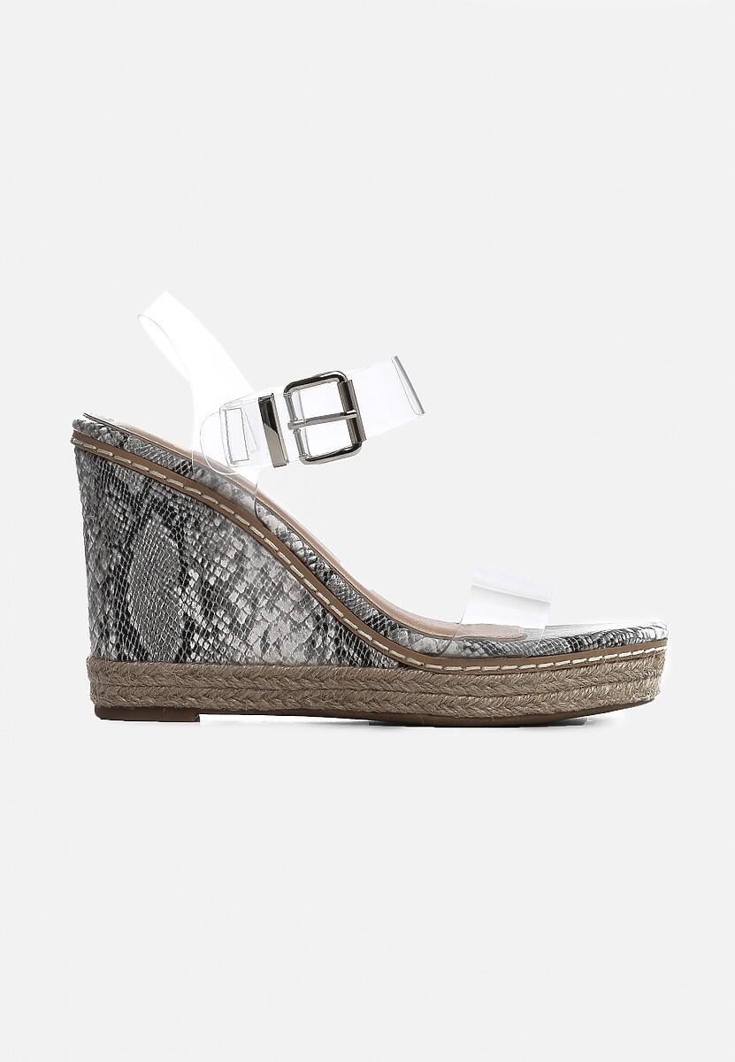Wężowe Sandały Clog
