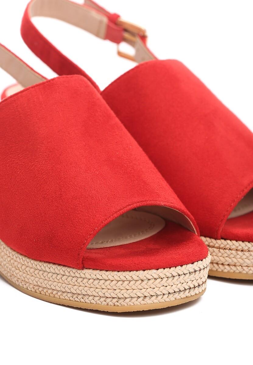 Czerwone Sandały Upside