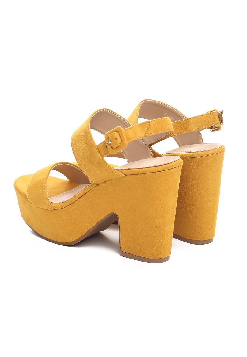 Żółte Sandały Roadblock