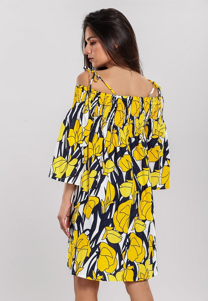 Żółta Sukienka Troublemaker