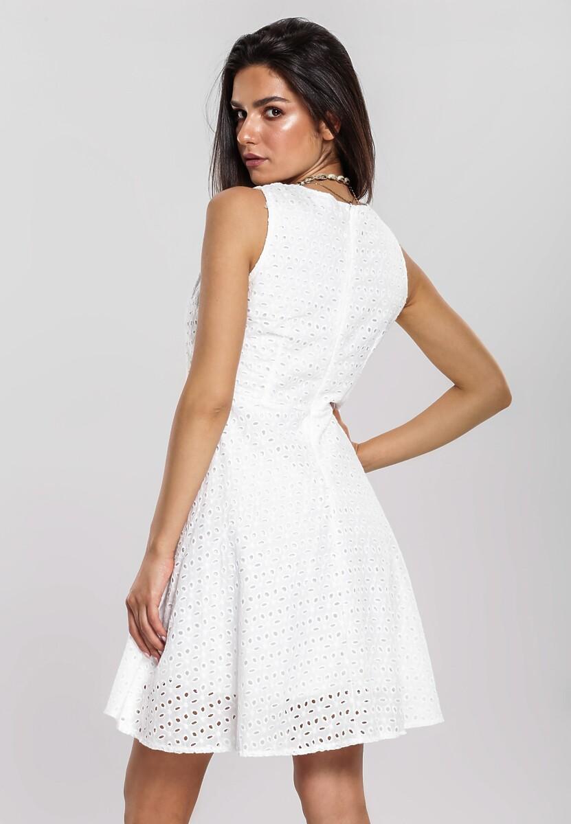 Biała Sukienka Admonish