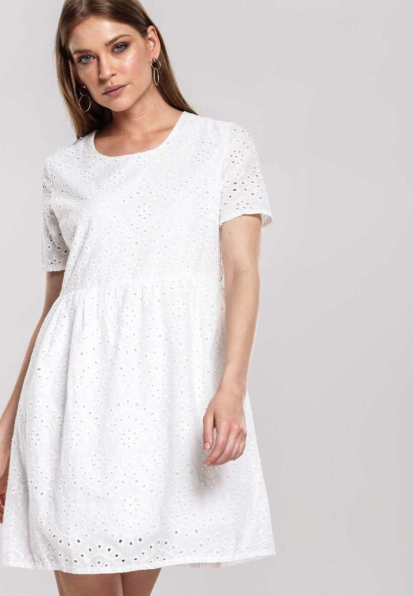 Biała Sukienka Coerce