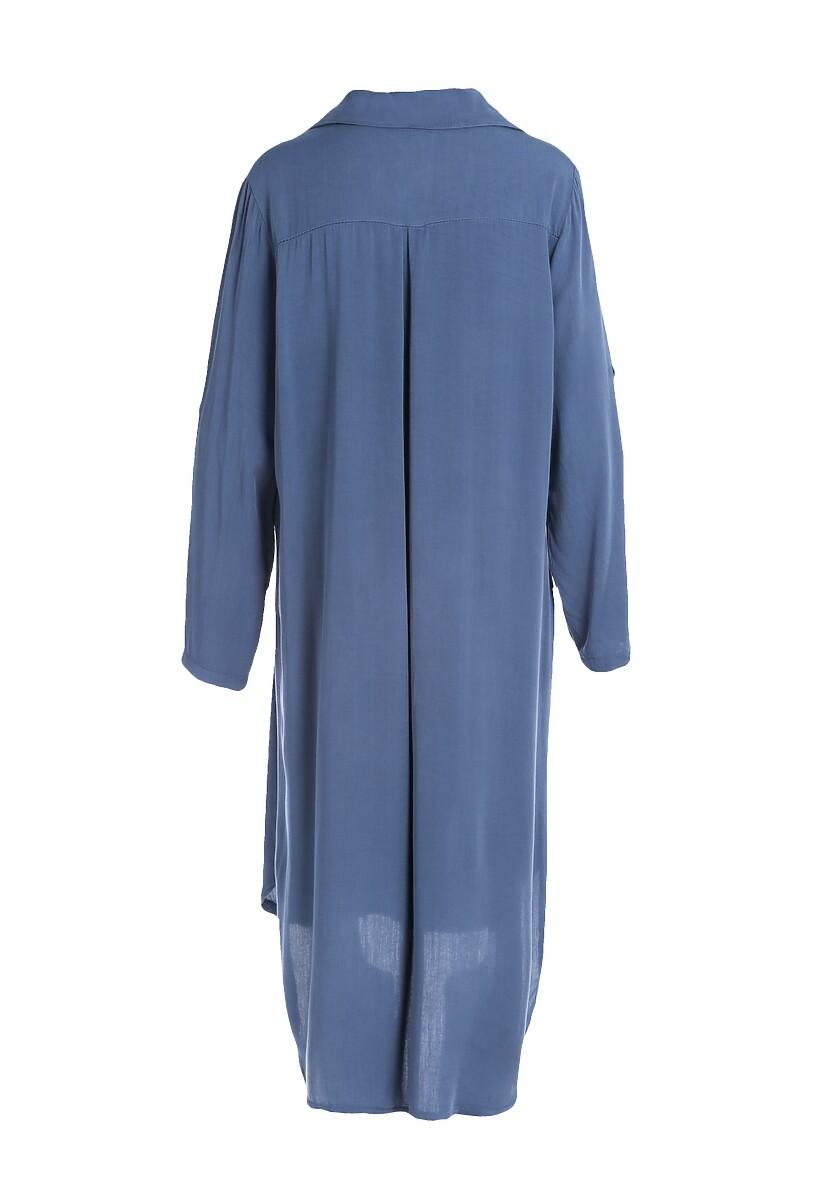 Ciemnoniebieska Sukienka Acquiesce