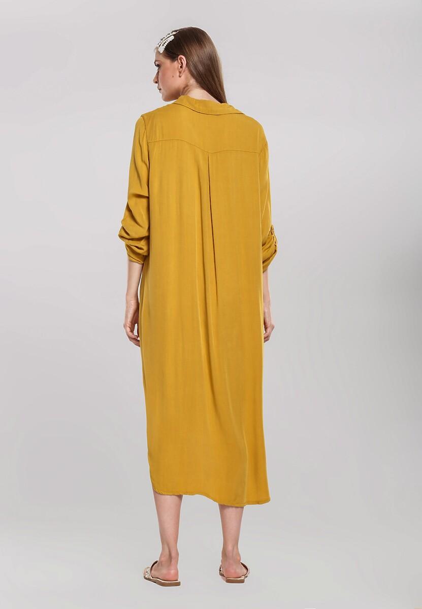 Camelowa Sukienka Acquiesce