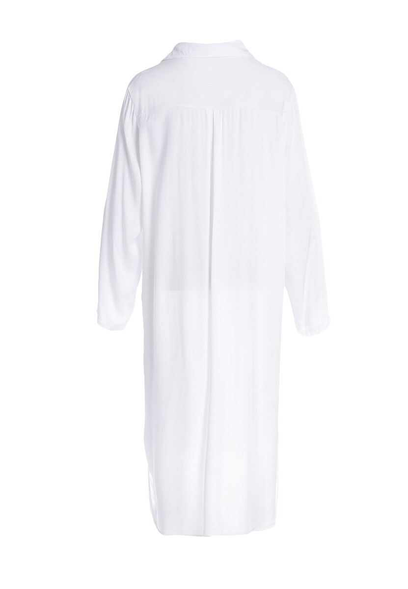 Biała Sukienka Acquiesce
