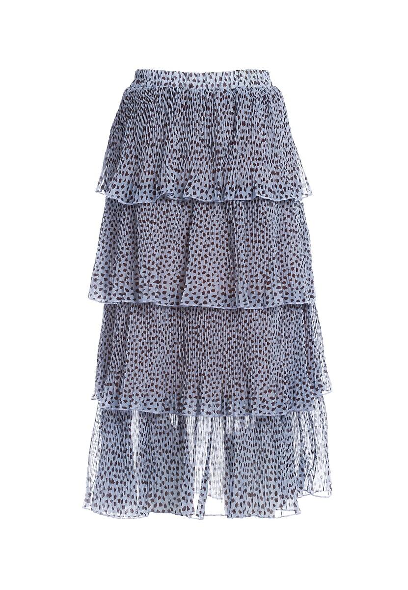 Niebieska Spódnica Eschew