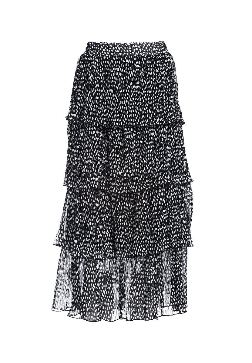 Czarna Spódnica Eschew