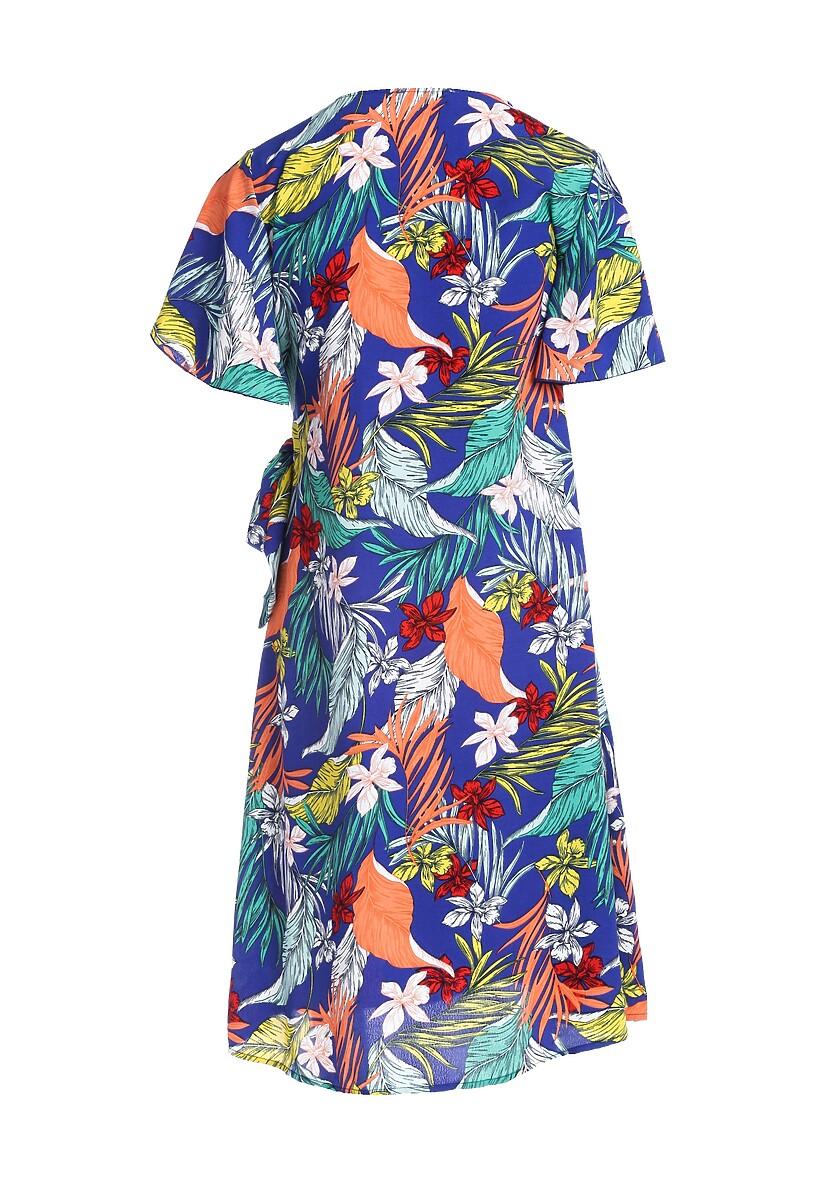 Niebieska Sukienka Actuate