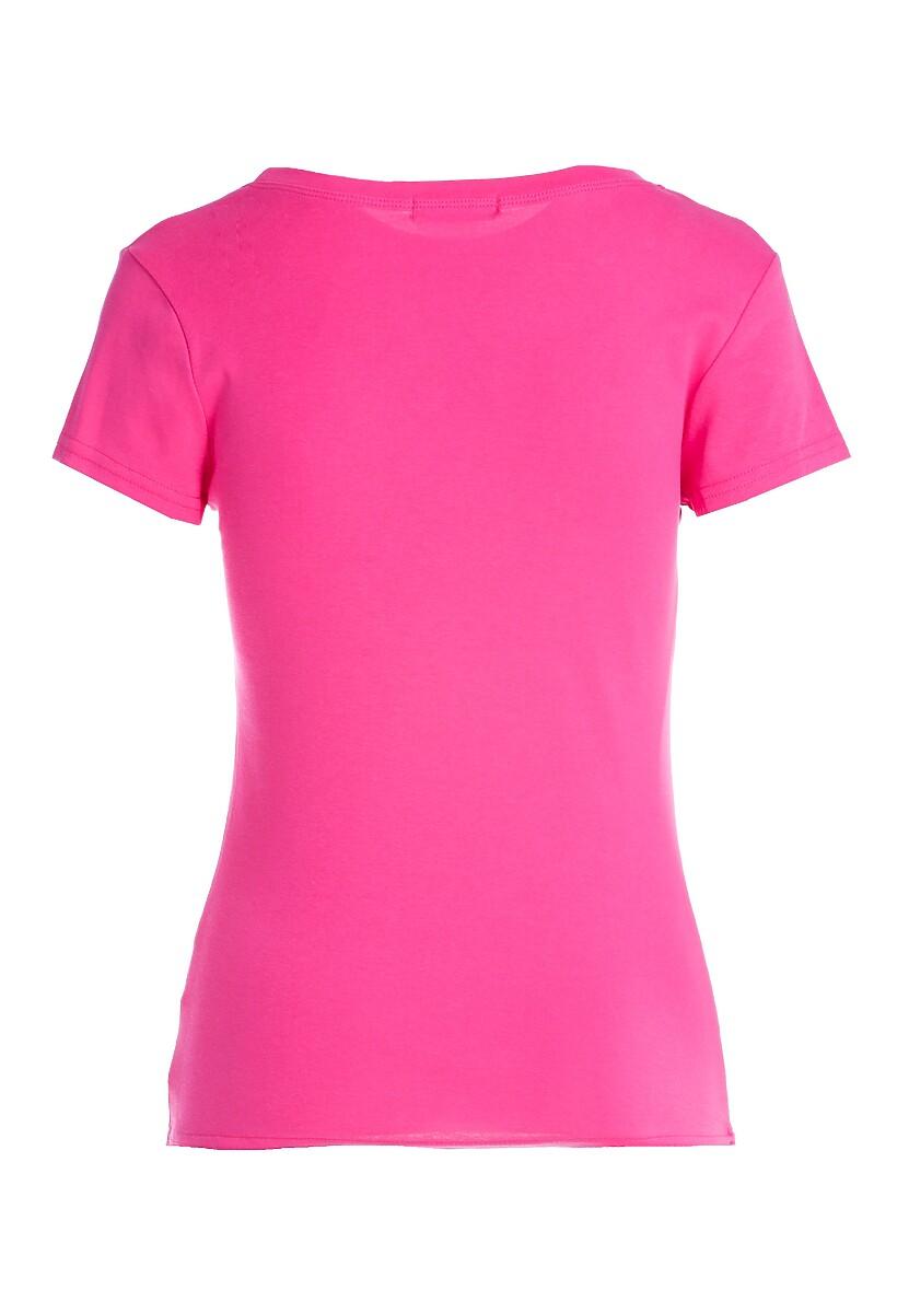 Fuksjowy T-shirt Huffy