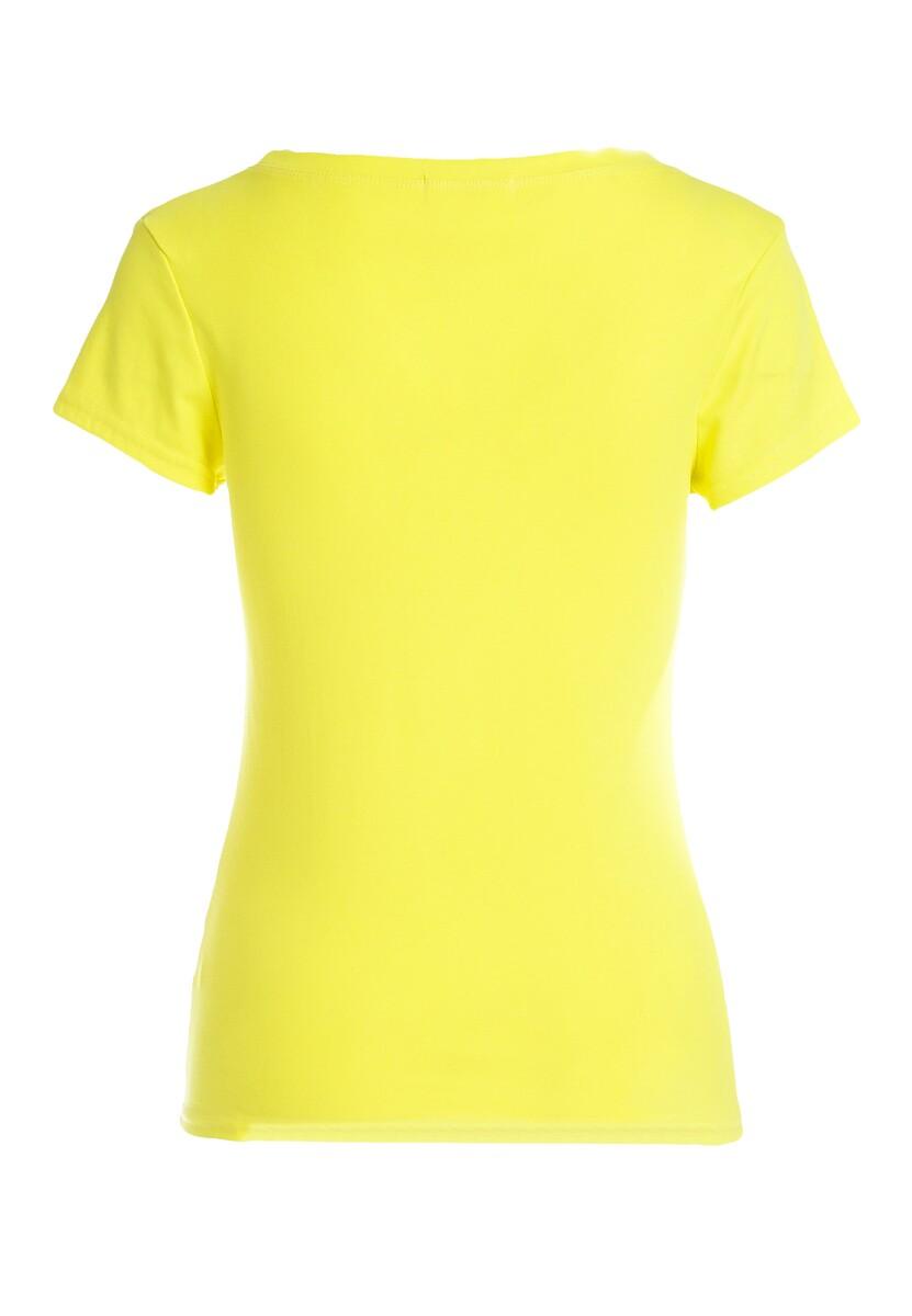 Żółta T-shirt Huffy