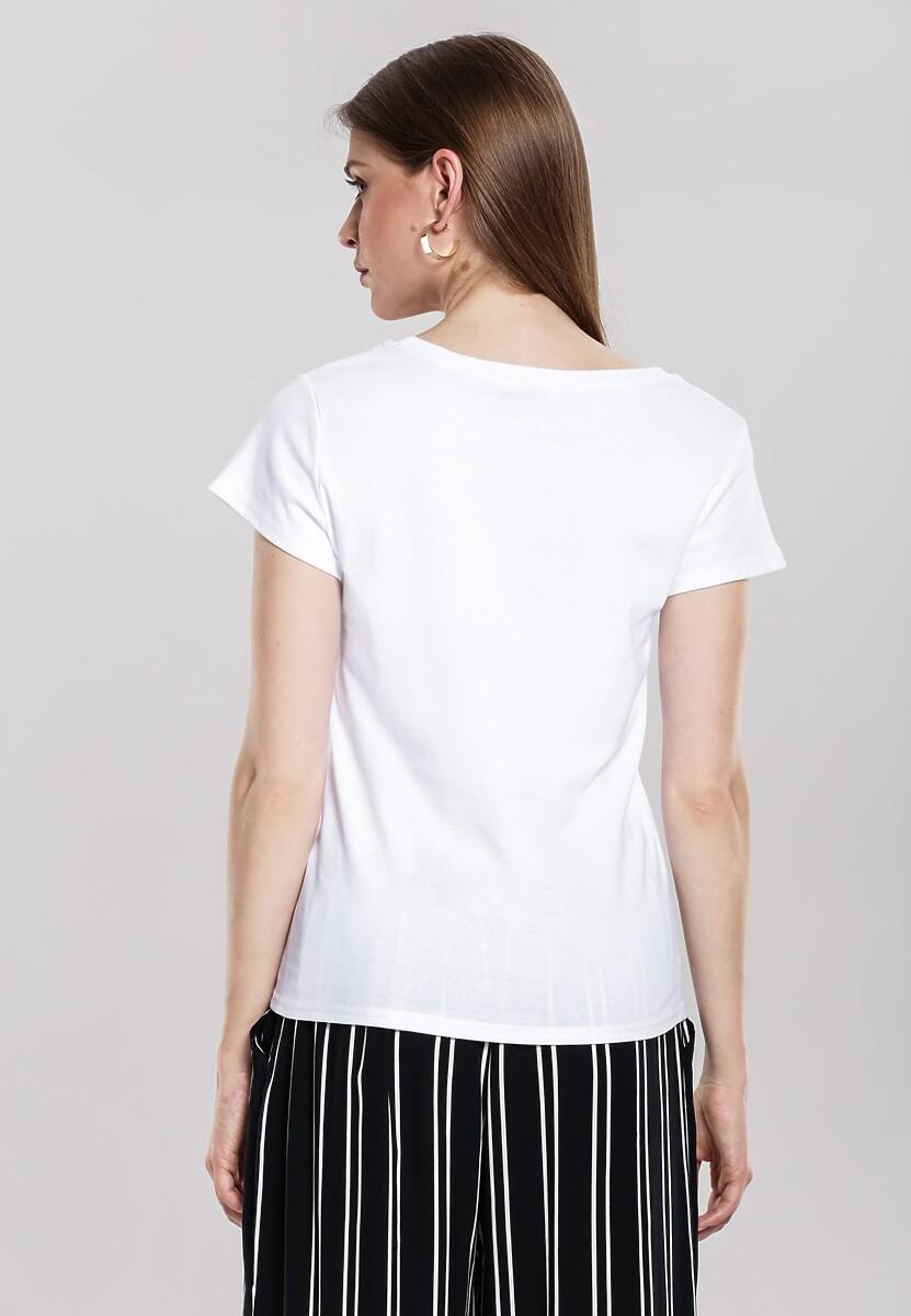 Biały T-shirt Huffy