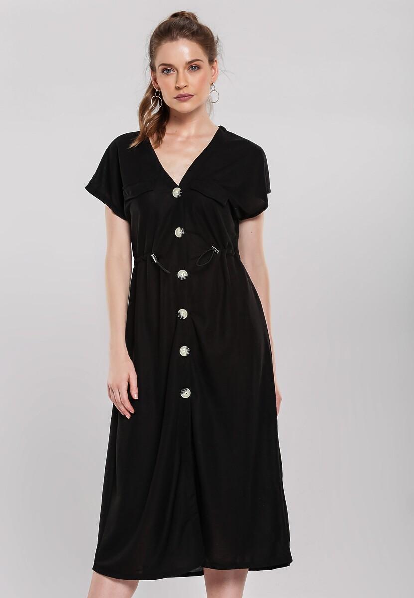 Czarna Sukienka Obstructor