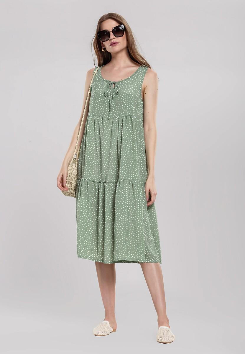 Zielona Sukienka Stopover