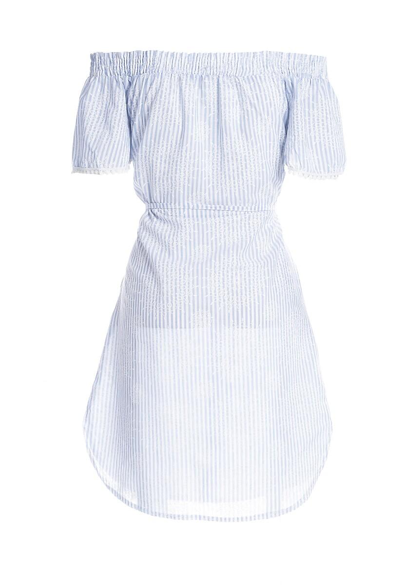Jasnoniebieska Sukienka Carry Out